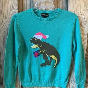 Merry Rexmas T-Rex Dinosaur Santa Ugly Christmas